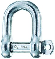 Straight shackle d  5 captive