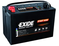 Exide marin start agm 50ah